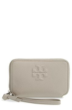 addead9feacf Tory Burch  Thea  Smartphone Wallet available at  Nordstrom Pebbled  Leather