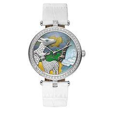 PINCH Enamel Deer Series Women's Watch Fshion Casual Luxury Leather Band – USD $ 99.99