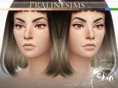 The Sims Resource: Velvet Touch Skin (2 Versions) by Pralinesims • Sims 4 Downloads
