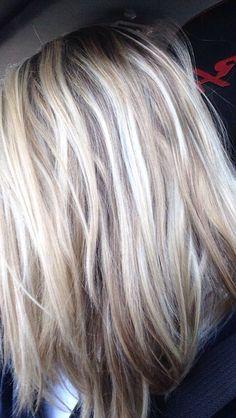 Kuvahaun tulos haulle blonde highlighted hair