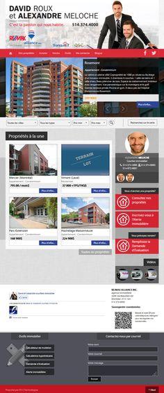 David Roux et Alexandre Meloche - courtiers immobiliers #REMAX #Aliquando #immobilier #vendre #acheter #maison #habitation http://davidroux.ca/
