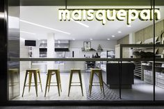 MAISQUEPAN bakery by NAN Architects, Carballiño – Spain » Retail Design Blog