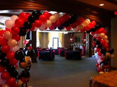 Mickey Mouse themed birthday party!