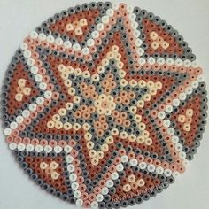 Mandala hama beads by  mandalaymas