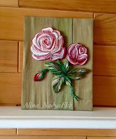Quilled Roses - by: Alina Nadya Ekb