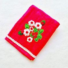 Toalla con flores