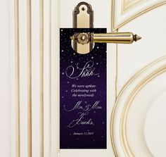 $20 for 20 #StarryNight #doNotDisturb #DoorHangers by http://www.bestwelcomebags.com