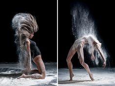 Estos explosivos retratos de bailarines muestran la fuerza de la danza