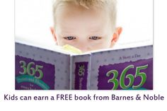 How your child can earn a FREE Book with Barnes & Noble's Summer Reading Program