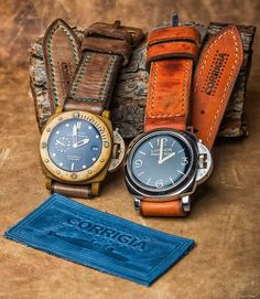 "85 Likes, 4 Comments - Panerai DNA (@panerai_dna) on Instagram: ""From #erwangrey PAM00372 & PAM00382 thanks @corrigia for give the straps for this pic. . . .…"""