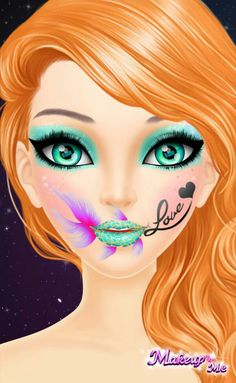 3d Cartoon, Cartoon Drawings, Chica Fantasy, Big Eyes, Anime, Make Up, Super Star, Art Prints, Disney Princess