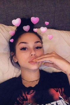 grafika girl, snapchat, and maggie lindemann