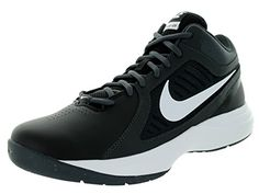 65 Nike Men s The Overplay VIII Black White Anthracite Drk Gry Basketball  Shoe 92727e273