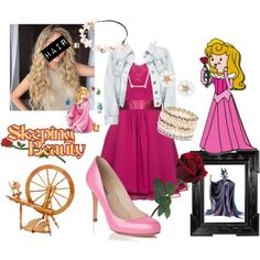 """""""Sleeping Beauty modern"""" by leticia-otto on Polyvore"""