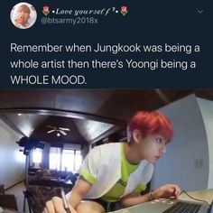 Bts Funny Videos, Bts Memes Hilarious, Funny Tweets, Bts Taehyung, Bts Bangtan Boy, Fandom Memes, Memes Humor, Bts Tweet, Album Bts