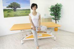 Protažení hýždí ve stoje Natural Medicine, Hair Beauty, Sporty, Yoga, Workout, Health, Wellness, Diet, Health Care