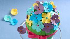 Flower Bouquet Cake Recipe