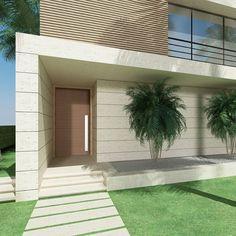 Dubai villa entrance view by Chakib Richani Architects #chakibrichani #chakibrichaniarchitects #architecture #modern #mydubai #simplyabudhabi #abudhabi #house #villa #lebanon #beirut #architecturaldigest