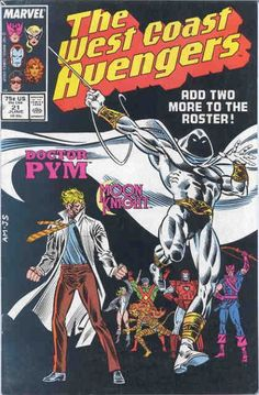 Besides Moon Knight, Hank Pym rejoins the Avengers! But instead of shrinking himself, he discovered he can size-change objects he keeps in a utility vest!