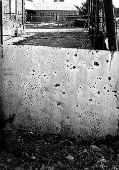 """""""Every wall, every gate, every street has their signs of war in Grozny."""""""