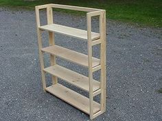 Folding Shelf -I have these, I painted them red and stacked then for my book shelves