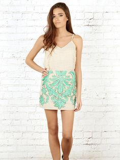 Bead Embellished Camisole | Tenner Store | Find more women's fashion at www.tennerstore.com #fashion #style #festivalfashion