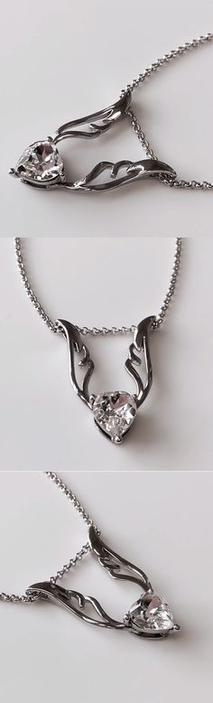 14596d3dc17e99 For a limited time, get 80% off this beautiful Swarovski Crystal Heart  Necklace!