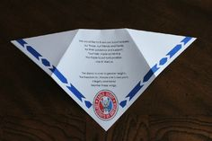 Akela's Council Cub Scout Leader Training: Eagle Scout Award Invitation or Eagle Scout Award Program Printable Idea that looks like a Scout Neckerchief for their Court of Honor