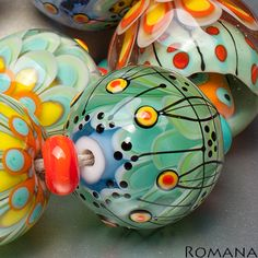 Lampwork Beads by Romana / March 2013