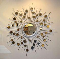 Antique Design Small Round Decorative Mirrors ~ http://lanewstalk.com/importance-of-decorative-bathroom-mirrors/;