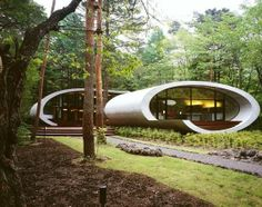 Top 12 Unusual Buildings around the world - Shell House – Nagano, Japan
