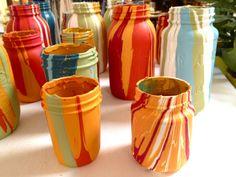 painted mason jar - Google Search