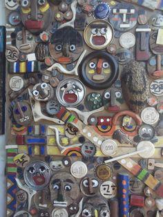 colagem de de materiais diversos por Bianca Branco em Ateliê de Artes 587