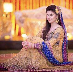 Walima Dress, Mehndi Dress, Mehendi, Wedding Girl, Wedding Gowns, Dream Wedding, Pakistani Wedding Outfits, Pakistani Dresses, Pakistan Bridal