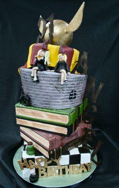 https://flic.kr/p/81wGf2 | Angel Porrino's Harry Potter cake