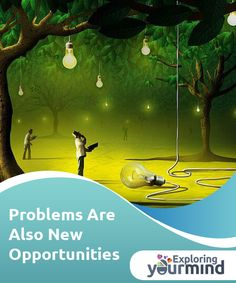 #Problems Are Also New #Opportunities  Problems also represent new opportunities, which is a truth that has been #proven over and over again. It's also #something we say to give our friends encouragement during times of difficulty, but that we forget when we're the ones who are stuck in the mud.