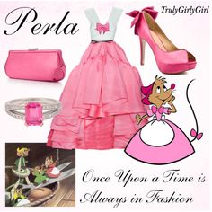 Disney Style: Perla, created by trulygirlygirl on Polyvore