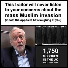 Quite right! Here in England, we're suffering horrific atrocities committed by Muslims, i.e. random acid attacks in the streets, gruesome domestic abuse of their wives/daughters, FGM, sickening wide-spread pædophilia, barbaric animal abuse - the list goes on, ad nauseûm. The UK has been invaded by these hateful people, who have effectively ruined our unique culture; our weak, über-liberal, politically-correct politicians have handed our once wonderful country over to them on a silver platter…