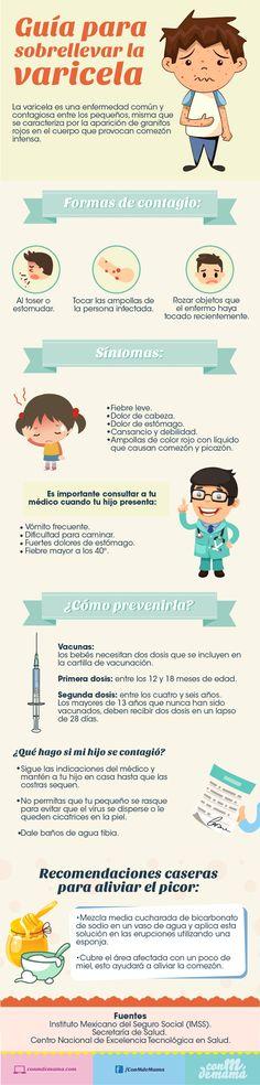 Guía rápida para sobrellevar la varicela.