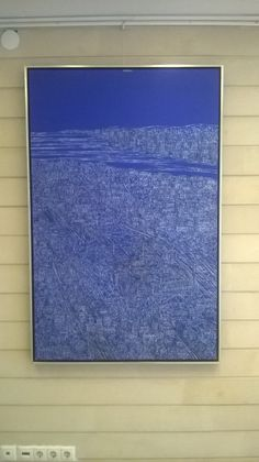 Devrim Erbil 140x90 cm acrylic on canvas
