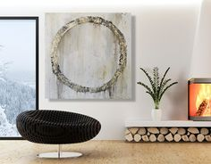Loft Decor- Modern Abstract Painting - modern - originals and limited editions - other metro - CMFA Gallery