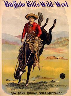 Buffalo Bill's Wild West Cowboy Show Fine Art Print