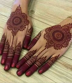 Circle Mehndi Designs, Latest Simple Mehndi Designs, Henna Tattoo Designs Simple, Latest Bridal Mehndi Designs, Mehndi Designs Book, Back Hand Mehndi Designs, Finger Henna Designs, Mehndi Designs For Girls, Mehndi Designs For Beginners