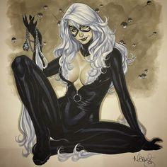 Black Cat by Mark Brooks *