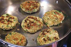 "Zucchini ""Crab"" Cakes | my kitchen addiction"