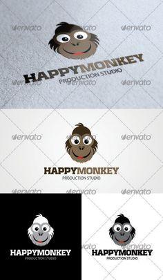Happy Monkey Logo