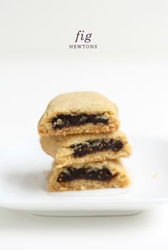 Homemade fig newtons! I love fig newtons...my favorite cookie...or fruit and cake, WTH. If I make them myself I will eat the whole batch I just know it..,