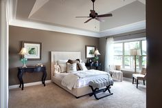 Master Bedroom paint colors ceiling - wonder f Andrew can make me that ceiling