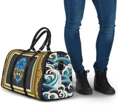 Most Stylish Men, Stylish Man, Waterproof Fabric, Blue Lion, Marble Art, Rich Girl, Travel Bags, Shoulder Strap, Luxury