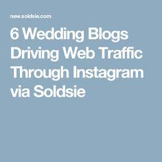 6 Wedding Blogs Driving Web Traffic Through Instagram via Soldsie Wedding Blog, Tulle, Instagram, Tutu, Tulle Skirts